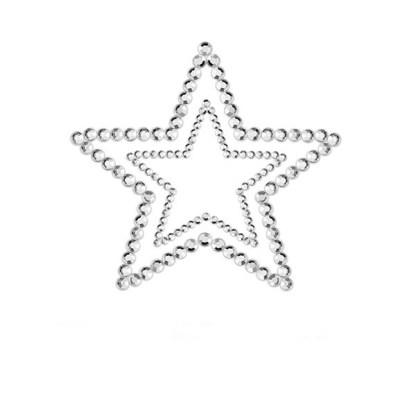 Brystsmykket Silver Star