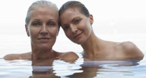 Two women generations