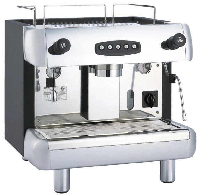 KLUB CS1 營業用單孔半自動咖啡機 專業 美觀 6公升大鍋爐 --【簡餐店適用的咖啡機】 | 良鎂咖啡精品館 - Rakuten ...