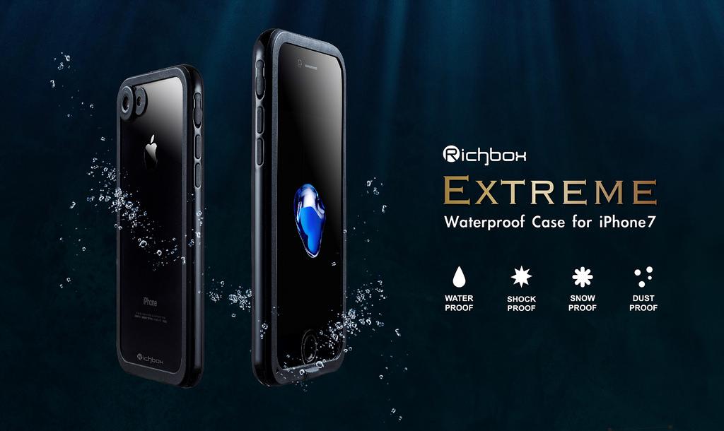 【2019年最新款】RICHBOX 極致防水iPhone 7 Plus / 8 Plus (5.5吋) 防水防摔殼