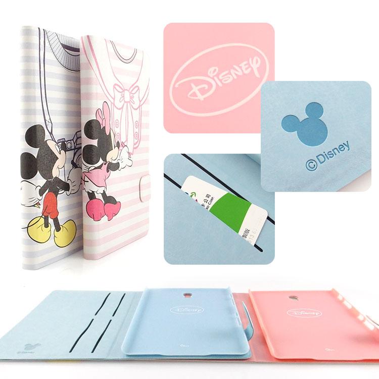 【網購人氣商品】【Disney 】Samsung Galaxy Tab S 8.4 可愛衣服造型彩繪側掀可立式皮套-米奇/米妮