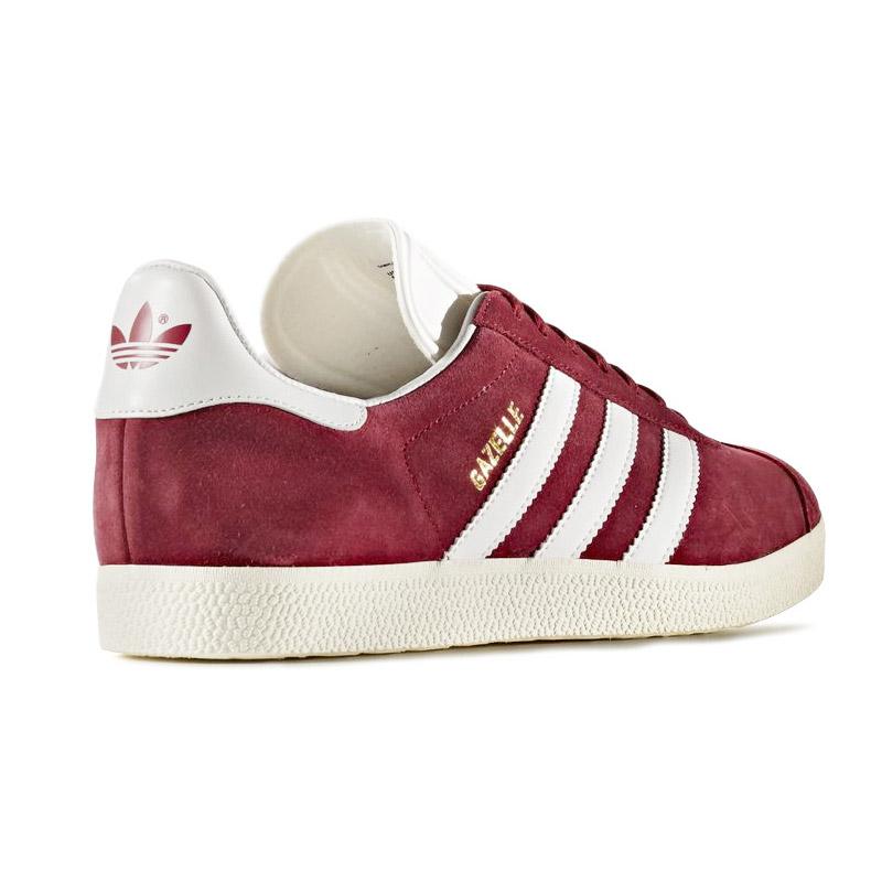 Gazelle Adidas Rouge 3