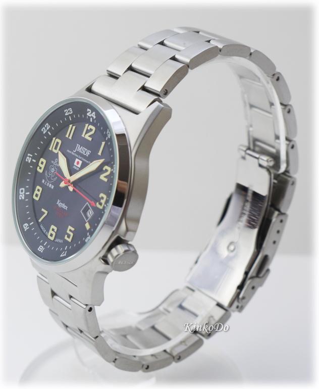 KINKODO: 海上自衛隊太陽能金屬手錶 | 日本樂天市場
