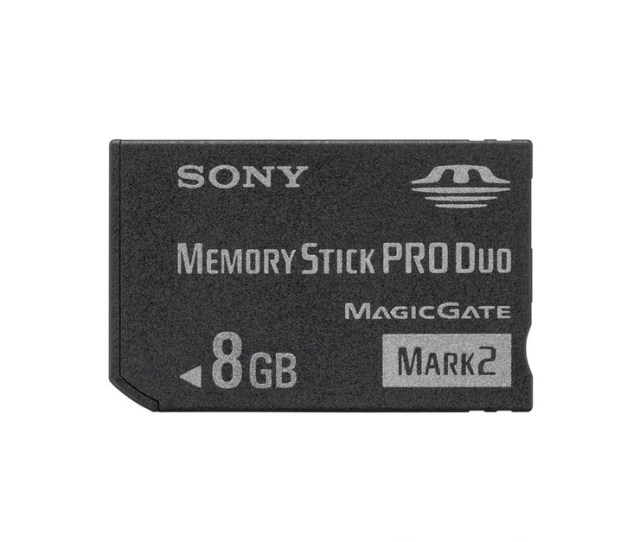 Acc Psp Memory Stick Pro Duo Memory Stick Pro Duo Mark2 8gb Sony Ms Mt8g20080419