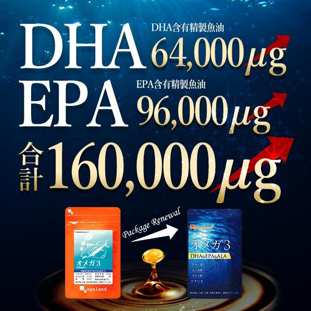 【楽天市場】【クーポンで20%OFF】オメガ3 DHA EPA α-リノレン酸 ...