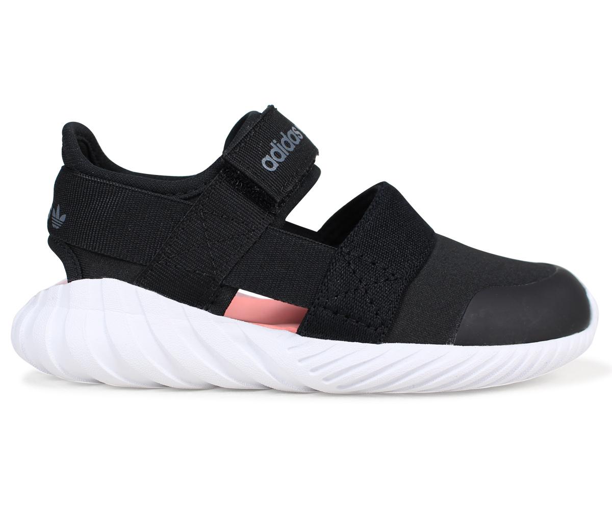 SneaK Online Shop: adidasudumu adidas Originals嬰兒涼鞋DOOM SANDAL I BB6698黑色原始物[預訂商品3/2左右打算進貨新入貨物 ...