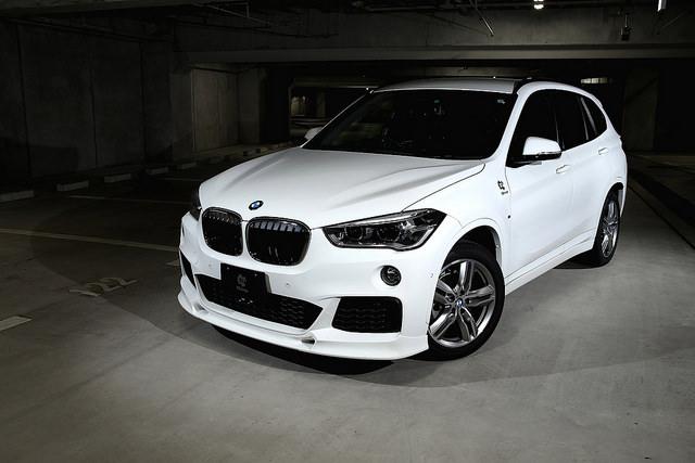 studieag | Rakuten Global Market: 3D Design front lip spoiler for BMW F48 X1 M-Sport