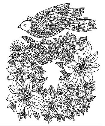北欧のぬり絵 デイドリーム ハンナ カールソン 著/実務教育出版【大人の塗り絵】【ギフト】【贈り物】【プ