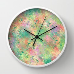 lemon-lime-sherbet-clock