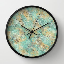 mint-and-mustard-clock