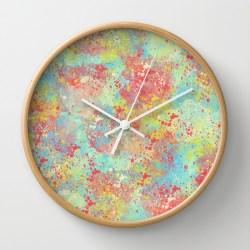neon-citrus-clock