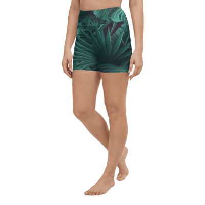 Relax Yoga Shorts Into The Jungle