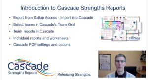 Getting Started with Cascade Introduction video