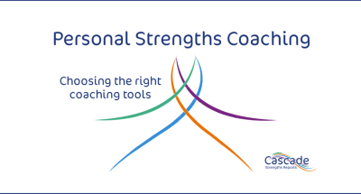 Personal coaching ideas from Cascade