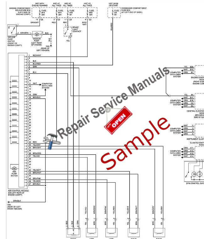 sample2?fit=650%2C764 toyota repair & service manual choose your vehicle (instant Basic Electrical Wiring Diagrams at bayanpartner.co