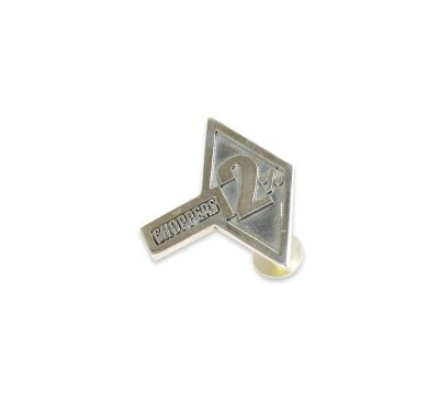 2% Choppers Silver Pin