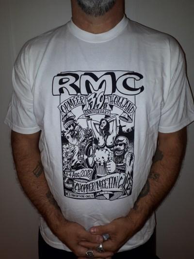 RMC 39th anniversary T-shirt (White)