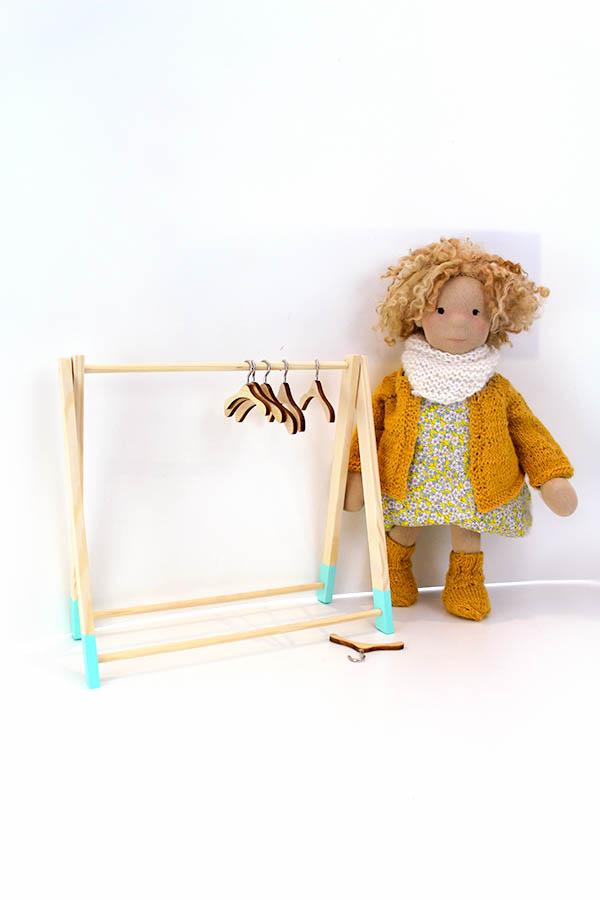 Puppen Kleiderständer