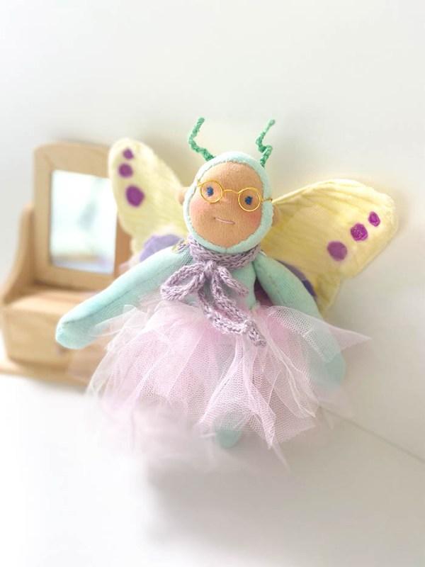 Minzling Puppe Schmetterling