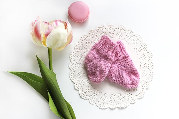 Socken rosa