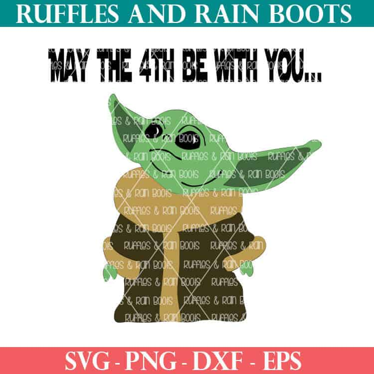 Download Baby Yoda SVG May the 4th Cut Files for Cricut and ...