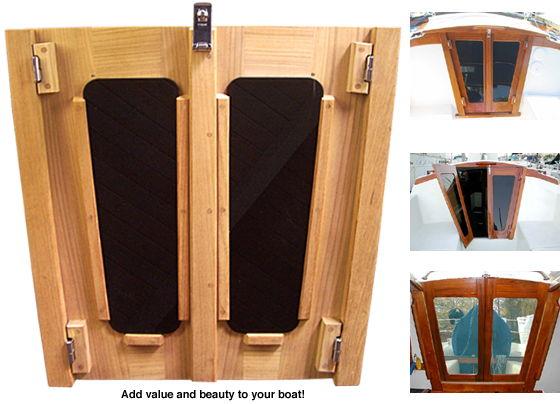 Companionway Doors Teak Custom Made For Any Boat Model