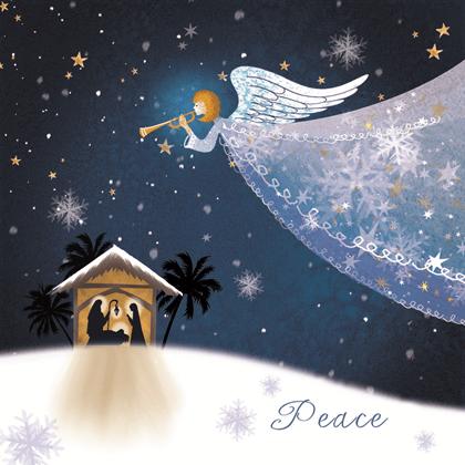 Angel Over Bethlehem OLD Save The Children Shop