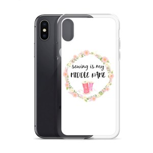 Sewing themed iphone cases gifts for sewers and people who love to sew