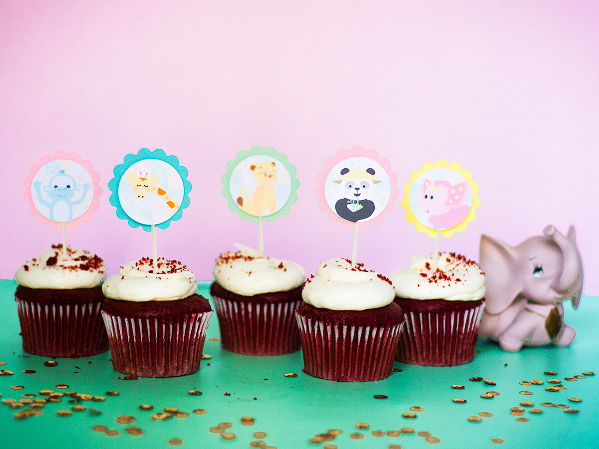 graphic relating to Printable Cupcake Toppers called Its a Low Earth Cupcake Topper Printables