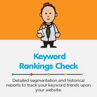 SimplePage Shop Product Keyword Rankings Check