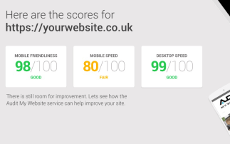 audit website pagespeed