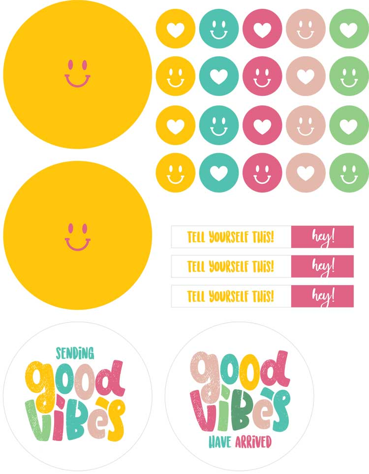 good vibe stickers