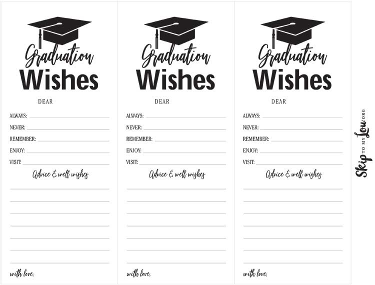 printable graduation bookmarks