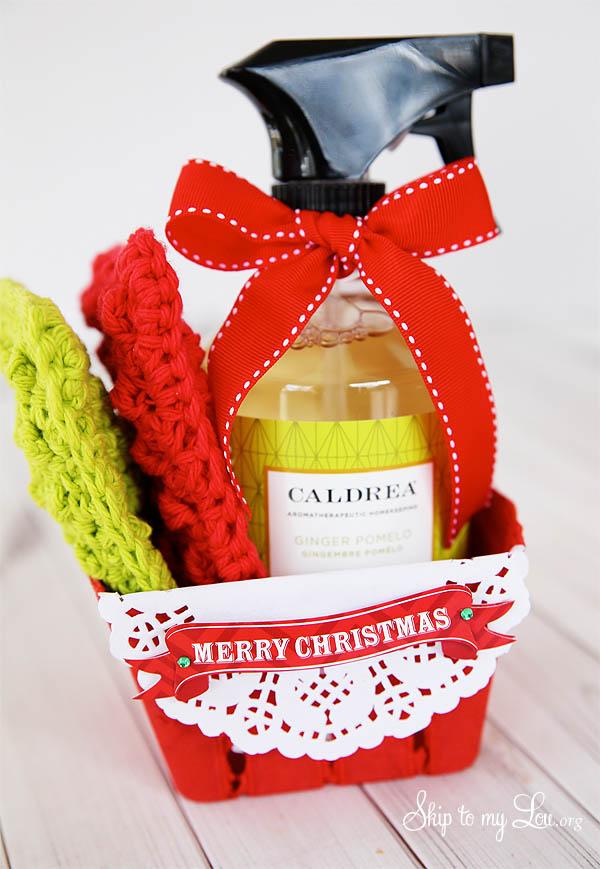 crochet sponge gift