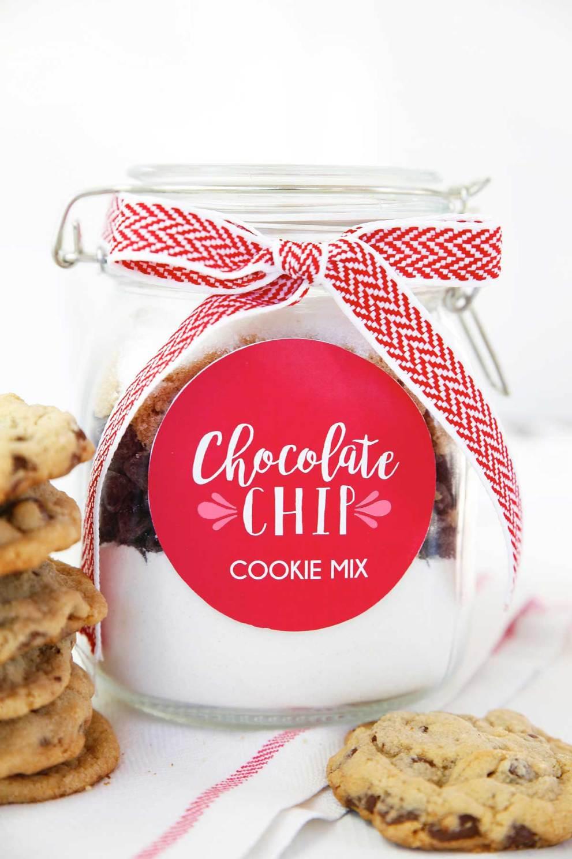 Valentine Chocolate Chip Cookie Mix