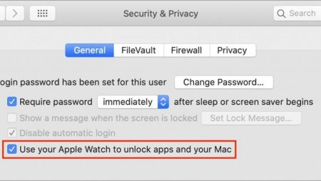 Use Your Apple Watch to Unlock Your Mac, and Apps in Catalina