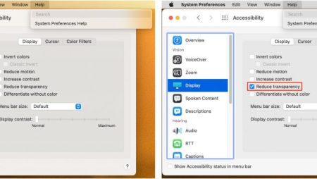 Not a Fan of Big Sur's Translucent Menu Bar? Here's How to Disable It