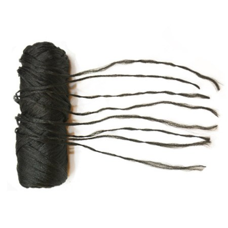 brazillian wool black