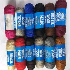 brazillian wool for hair