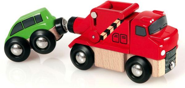 Abschleppwagen mit Auto | BRIO