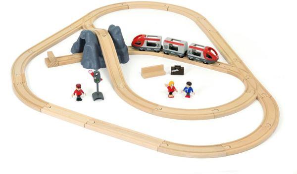 BRIO Eisenbahn Starter Set A | BRIO