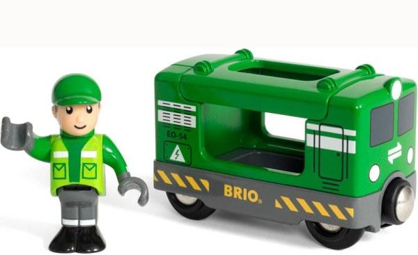 Frachtlok mit Fahrer | BRIO