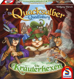 Die Quacksalber von Quedlinbu   S,S,F, Schmidt Spiele