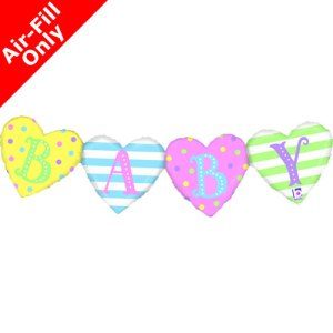 "Girlande Love 104 cm/ Bunting Love 41"" air | Karaloon Ballon GmbH"
