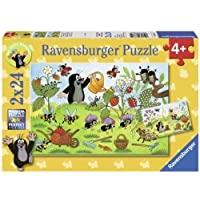 MW:Der Maulwurf im Garten 2x24p-2 X 24 Teile | Ravensburger Spielverlag
