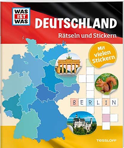 WAS IST WAS Rätseln und Stickern: Deutschland | Tessloff Verlag