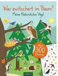 Natursticker Vögel | Ars Edition