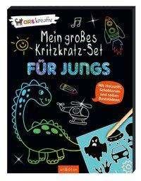 Gr, Kritzkratz-Set: Jungs   Ars Edition