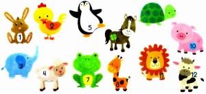 Baby Monats-Sticker   Triple-A-Toys GmbH