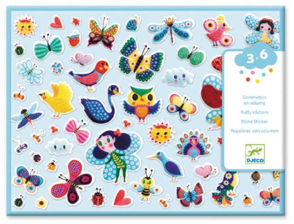 Sticker: Kleine Flügelwesen | Djeco